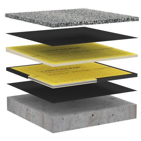d mmung mit vakuumkern f r flachdach balkon und terrasse energie fachberater. Black Bedroom Furniture Sets. Home Design Ideas