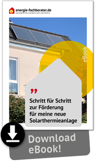 eBook Förderung Solarthermie