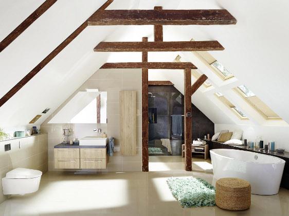 Dämmung Fußboden Dachgeschoss ~ Neues bad im dachgeschoss das müssen hausbesitzer beachten